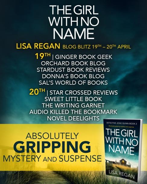 The Girl With No Name - Blog Tour