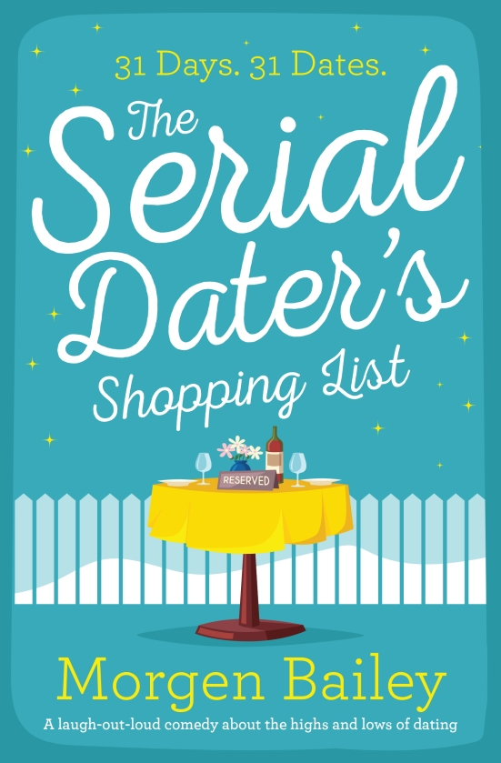Morgen Bailey - The Serial Daters Shopping List_cover