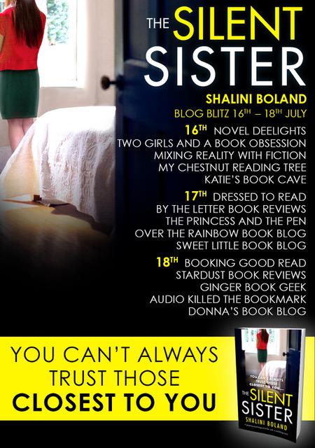 The Silent Sister - Blog tour