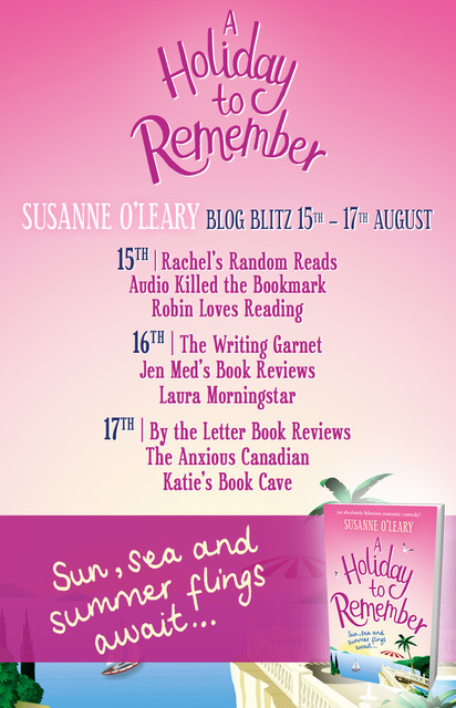 A Holiday to Remember - Blog Tour