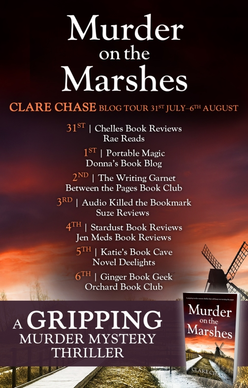Murder on the Marshes - Blog Tour