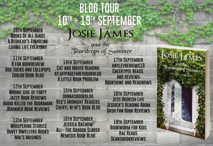 Josie James and the Teardrops of Summer Full Tour Banner
