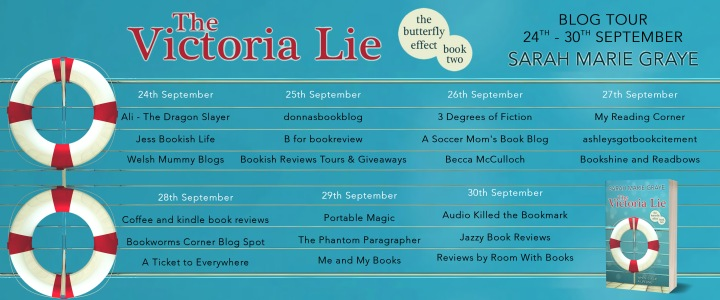 The Victoria Lie Full Tour Banner