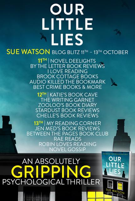 Our Little Lies - Blog Tour