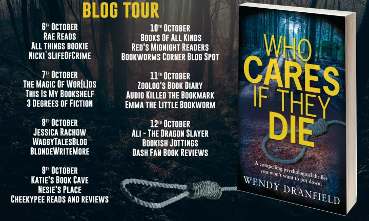 Who Cares If they Die Full Tour Banner