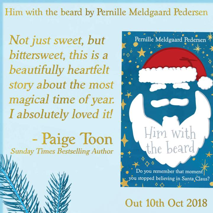 him with the beard Pernille Meldgaard Pedersen Paige Toon