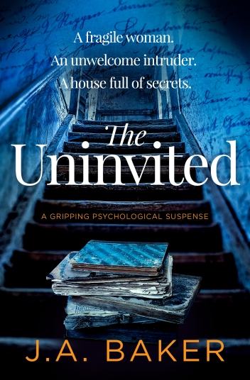 J.A. Baker - The Uninvited_cover