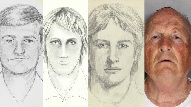 Joseph James DeAngelo mugshot with sketches suspected Golden State Killer.jpg.jpg_11751057_ver1.0_640_360