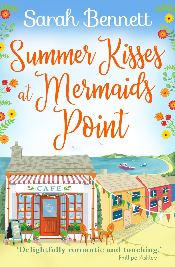 Summer Kisses at Mermaid Point by Sarah Bennett  **Book Review** @rararesources