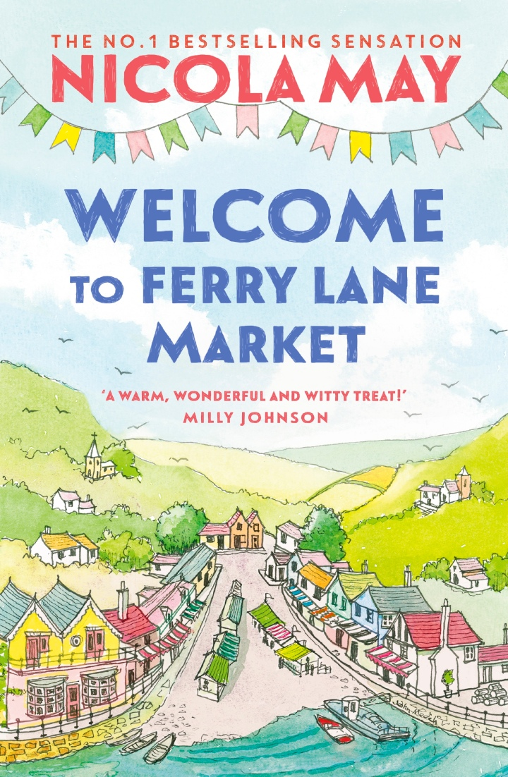 Welcome To Fairy Lane Market by Nicola May **BookReview**